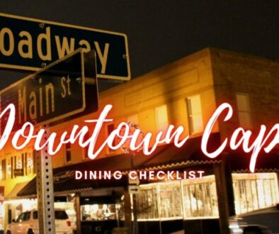 Downtown Cape Girardeau Dining Checklist